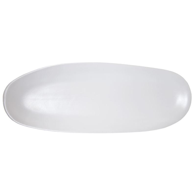 Benzer – Noosa Matt Pearl Long Oval Dish 37x14cm
