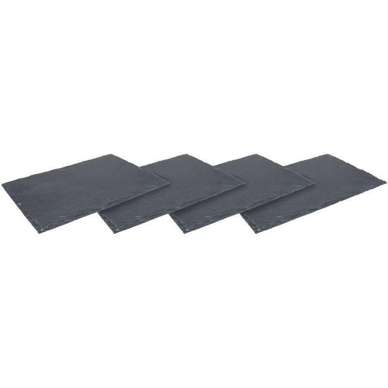 Zuhause – Aldo Slate Serving Board 30x20cm Set of 4