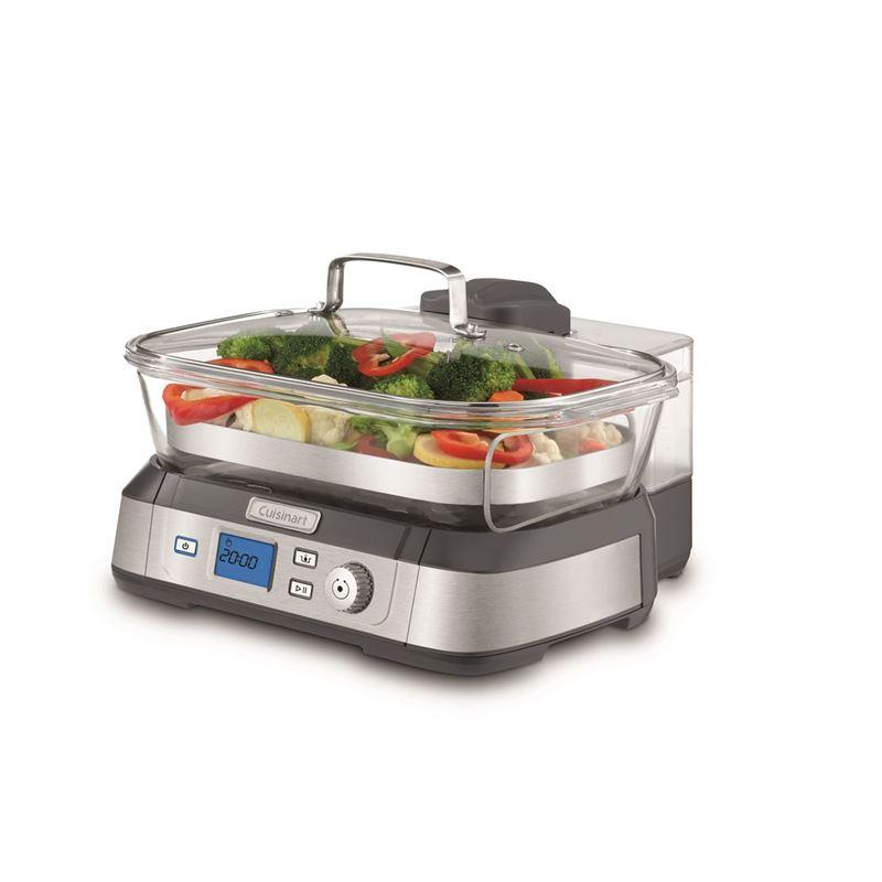 Cuisinart – CookFresh Digital Glass Steamer 5Ltr