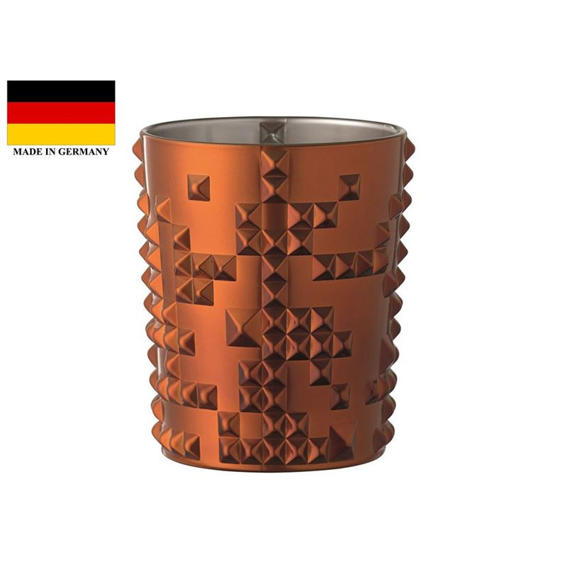 Nachtmann Crystal – Punk Whisky Tumbler Copper 384ml (Made in Germany)