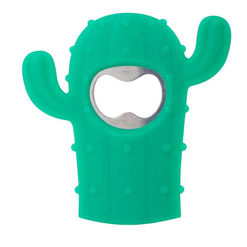 Giftworks – Cactus Bottle Opener 17x10x20cm Green