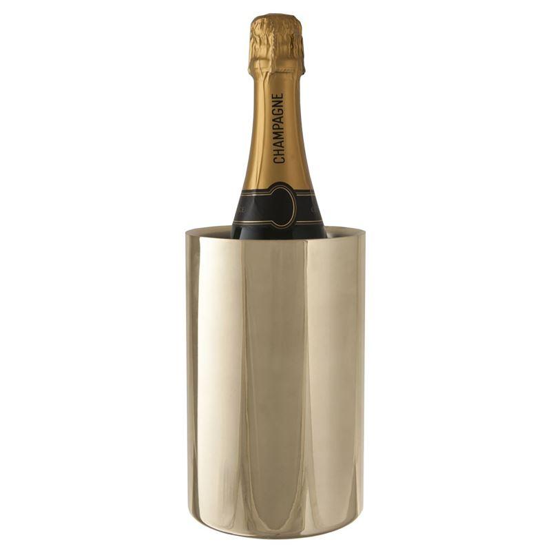 Zuhause – Devine Wine Cooler 12x19cm Gold