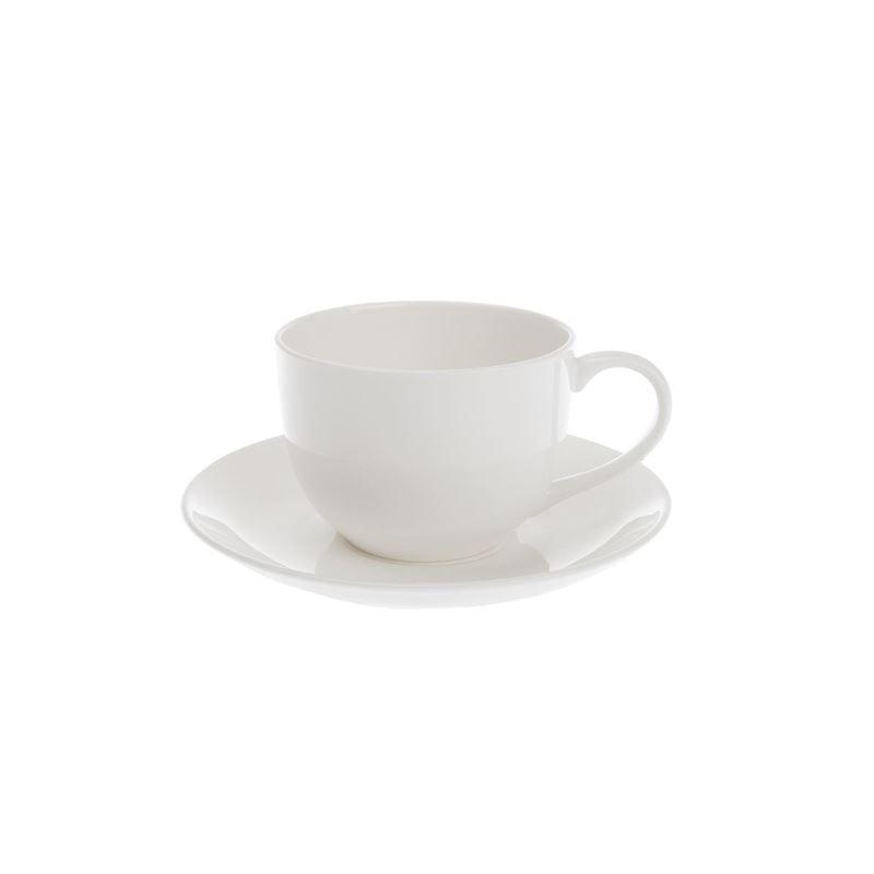 Zuhause – Zaha Premium Fine Bone China Tea Cup and Saucer 275ml