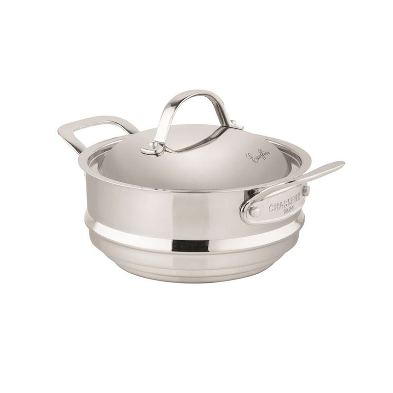 Chasseur – Escoffier Stainless Steel Multi-Steamer with Lid 20cm
