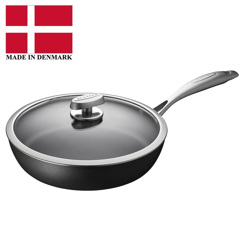 Scanpan – Pro IQ Induction 28cm Covered Sauté Pan 2.4Ltr (Made in Denmark)