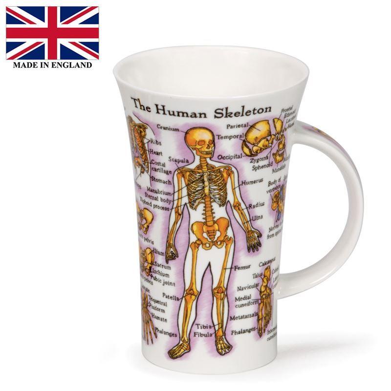 Dunoon – Glencoe Bone China Mug Human Body (Made in England)