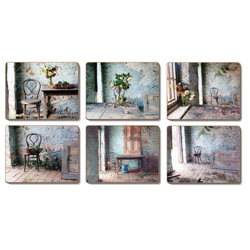Cinnamon – Blue Room Coaster 11×9.5cm Set of 6