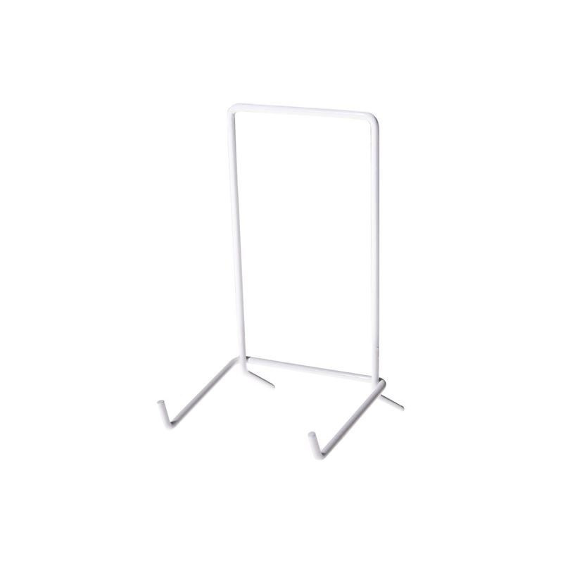JeS – White Coated Plate Stand No. 5 (Made in England)