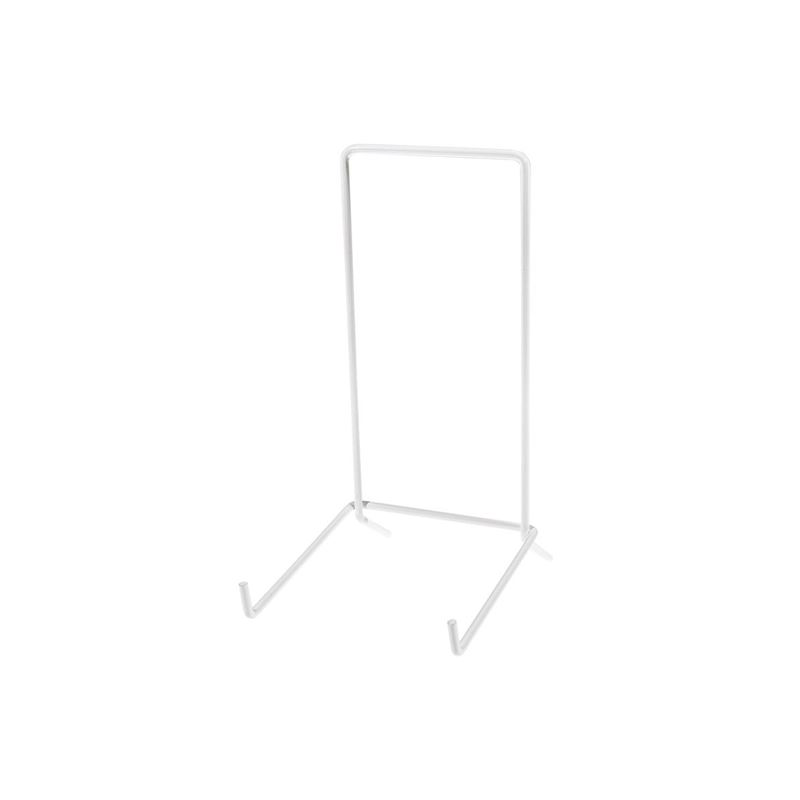 JeS – White Coated Plate Stand No. 6 (Made in England)