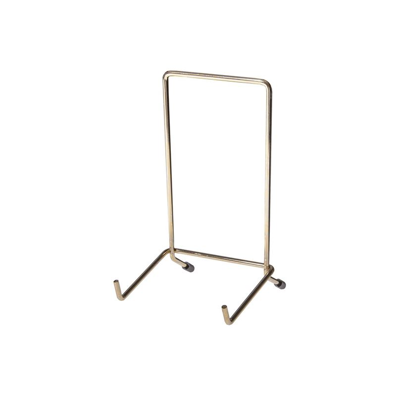 JeS – Brassed Plate Stand no.5 (Made in England)