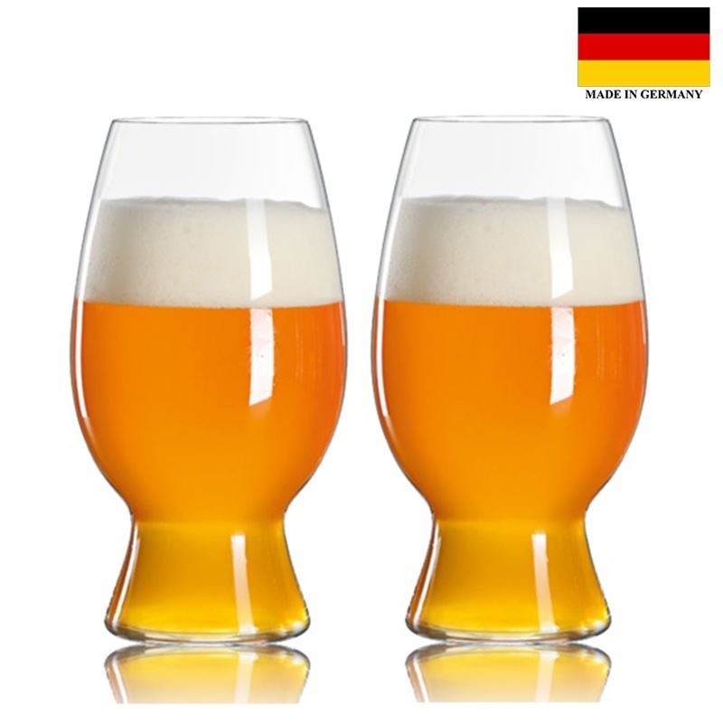 Spiegelau – Beer Classics – American Wheat Beer ml Set of 2 (Made in Germany)