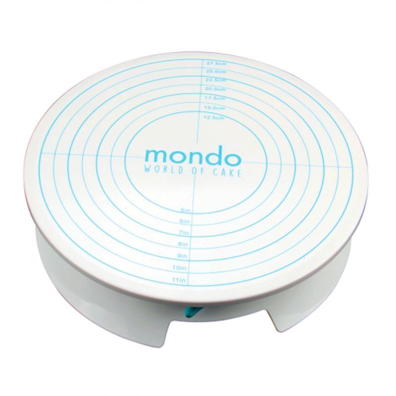 Mondo – Cake Decorating Turntable with Brake 30.3cm