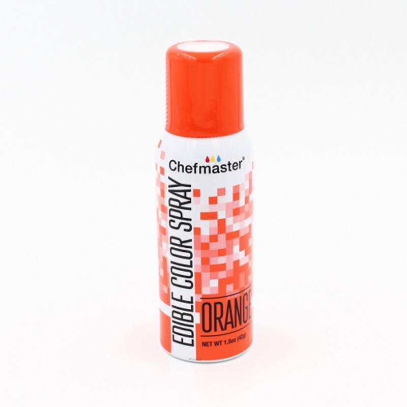 Chefmaster – Edible Food Spray – Orange 42gm