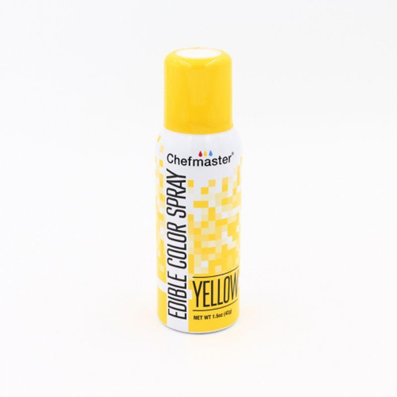 Chefmaster – Edible Food Spray – Yellow 42gm