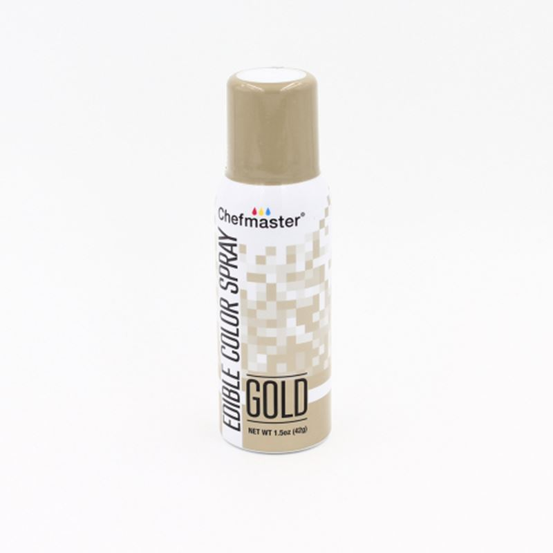 Chefmaster – Edible Food Spray – Gold 42gm