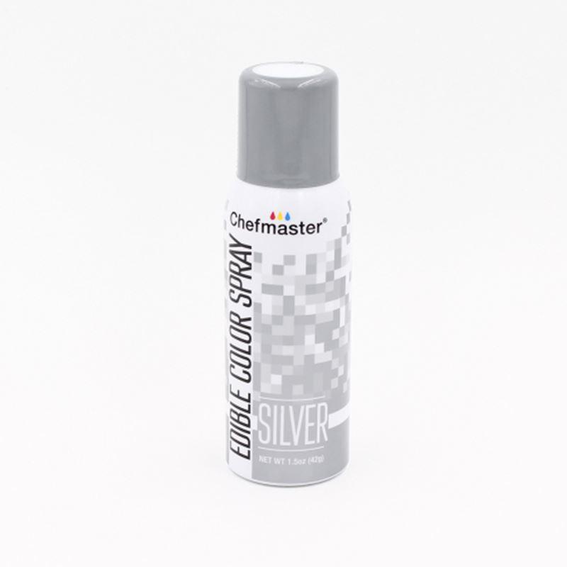 Chefmaster – Edible Food Spray – Silver 42gm