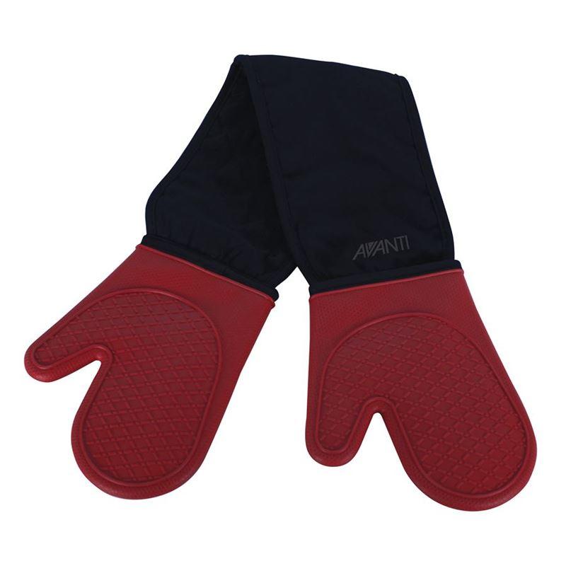 Avanti – Silicone Double Oven Glove Red