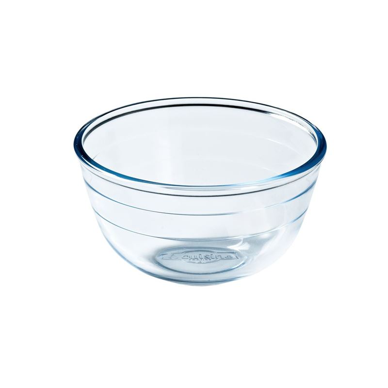 O'Cuisine – 17cm Glass Mixing Bowl 1Ltr (Made in France)