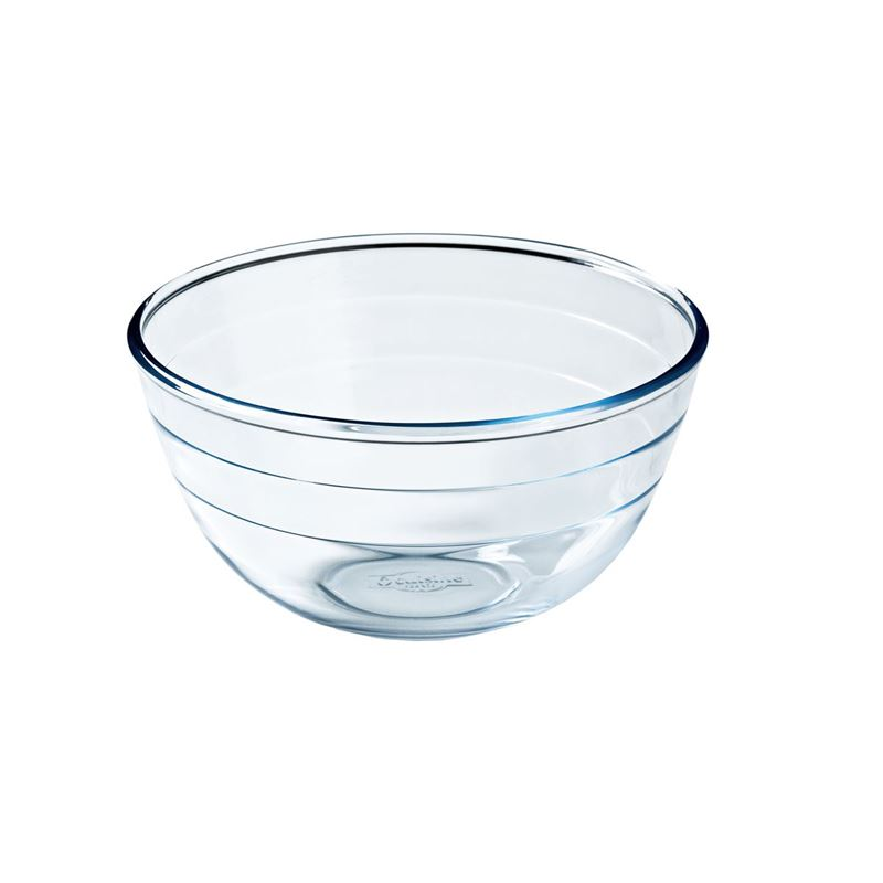 O'Cuisine – 21cm Glass Mixing Bowl 2Ltr (Made in France)