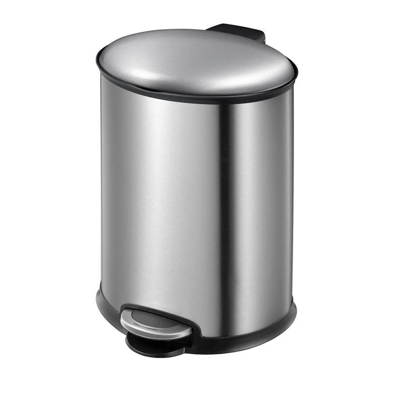 Eko – Ellipse Step Pedal Rubbish Bin 12Ltr Stainless Steel