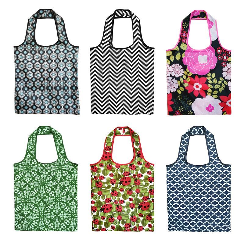 Sachi – Folding Shopping Bag 40x42cm Assorted Designs
