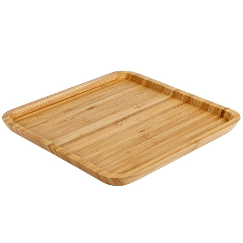Benzer – Ecozon Bamboo Mondo Square Plate 25×1.6cm