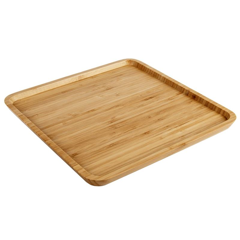 Benzer – Ecozon Bamboo Mondo Square Plate 30×1.6cm