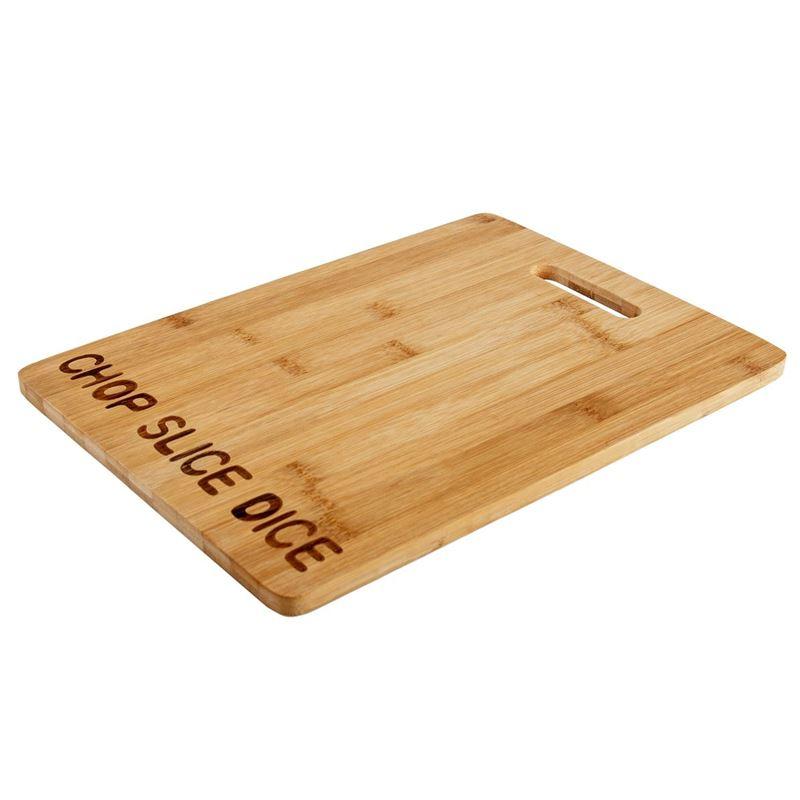 Benzer – Ecozon Bamboo Chop Slice Dice Chopping/Serving Board Medium 33x24x1cm