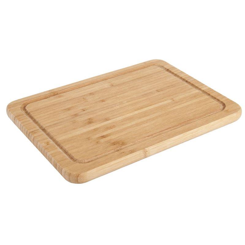 Benzer – Ecozon Bamboo Freya Bamboo Rectangular Cutting Board Small 27x20x1.5cm