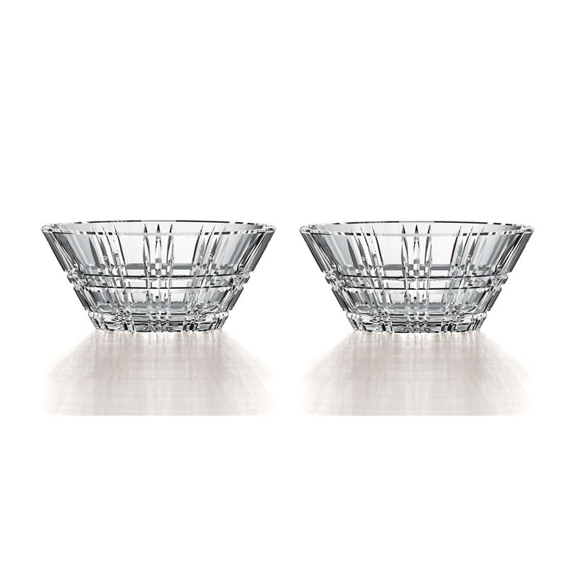 Nachtmann Crystal – Square Bowl 15cm Set of 2 (Made in Germany)