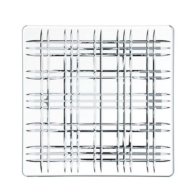 Nachtmann Crystal – Square Plate 28cm (Made in Germany)