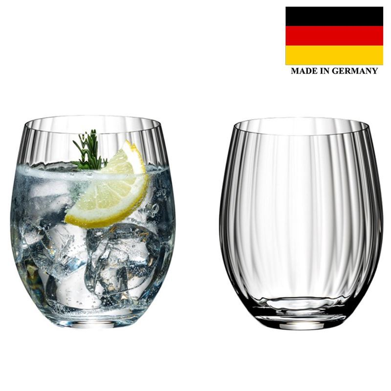 Riedel – Optical O Long Drink Set of 2 (Made in Germany)