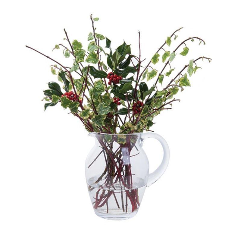 Dartington Crystal – Flower Garden Blossom Jug 21cm (Made in Europe)