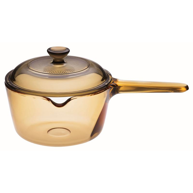 Visions – Pyroceram Saucepan with Lid 1Ltr