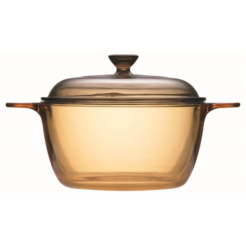 Visions – Pyroceram Covered Cookpot with Lid 1.5Ltr