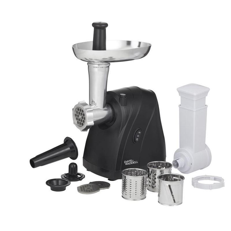 Davis & Waddell Taste – Electric Meat Mincer/Vegetable Slicer 2in1