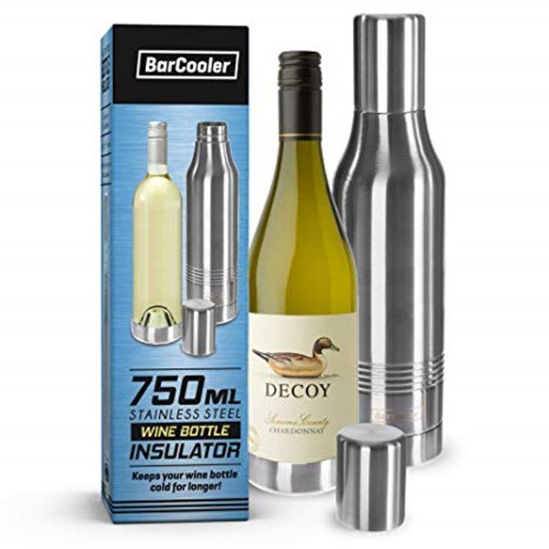 BarCooler – Stainless Steel Wine Bottle Insulator for 750ml Bottles