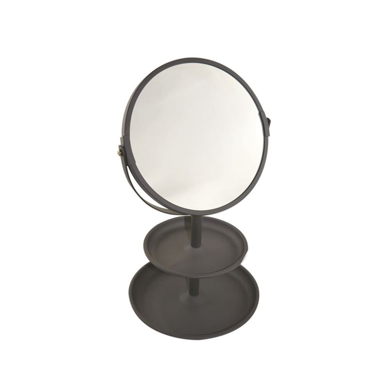 Urban Lines – Butlers Vanity Mirror with Tray Charcoal