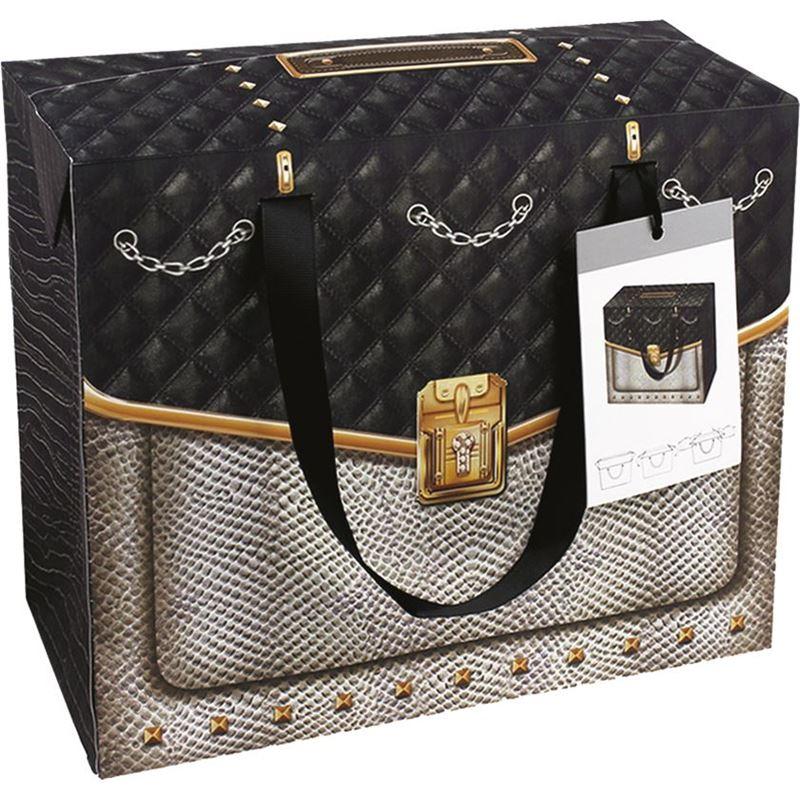 Ogilvies Designs – Gift Bag Box Square Bag Coco