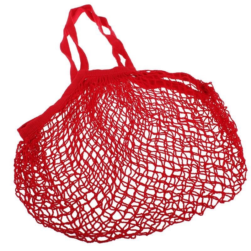 Appetito – String Bag with Long Handle Red