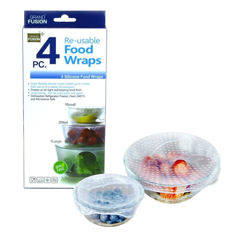 Grand Fusion – Silcone Food Wrap Set of 4