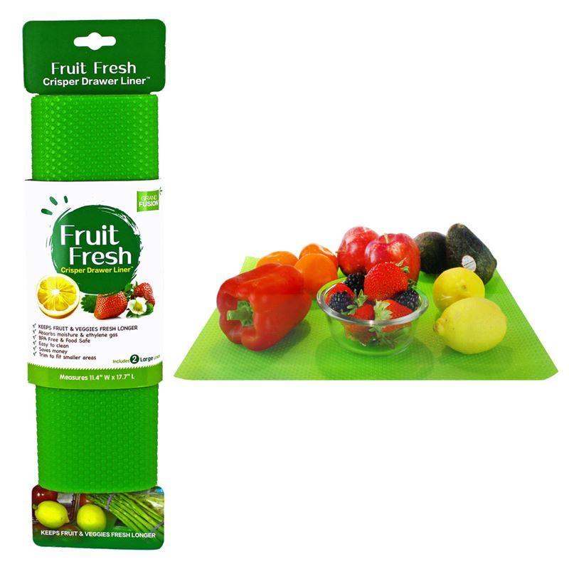 Grand Fusion – Fruit Fresh Crisper Drawer Liner set of 2