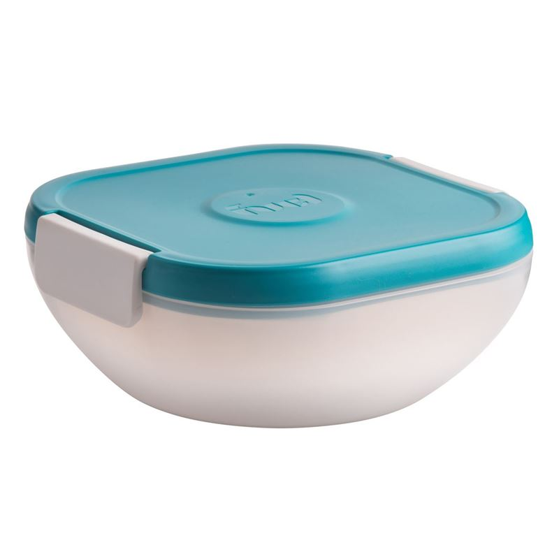 Fuel – Salad on the Go Container with Ice Pack Tropical Blue