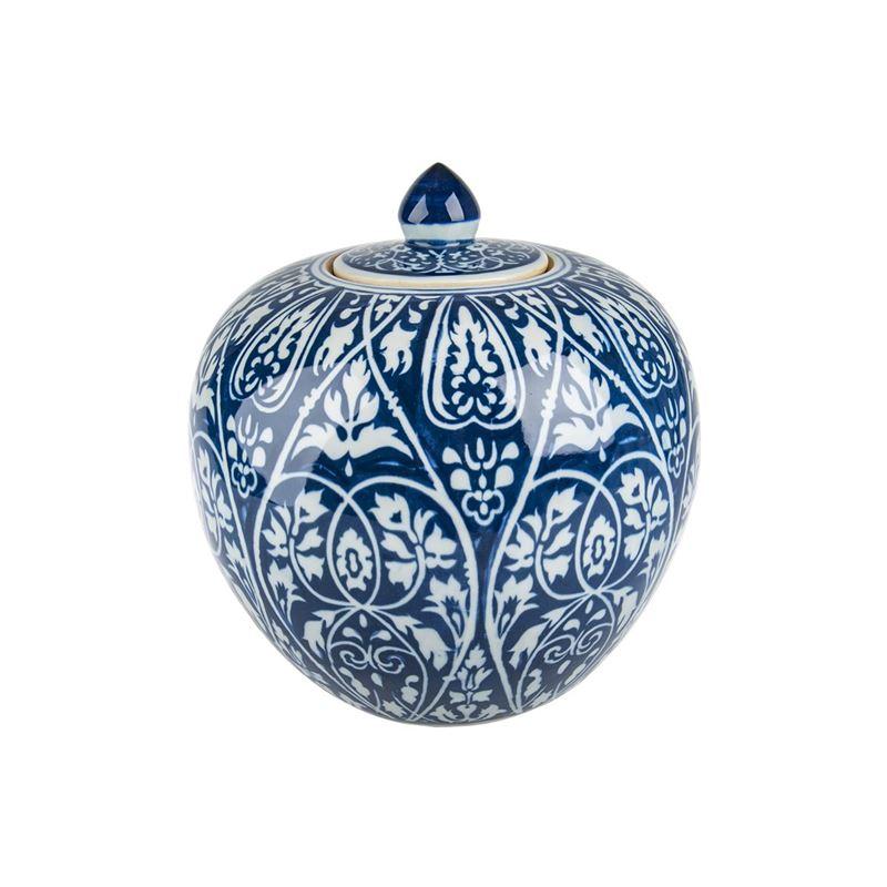 Pimbleton – Chinoiserie Georgia Round Ginger Jar 28cm
