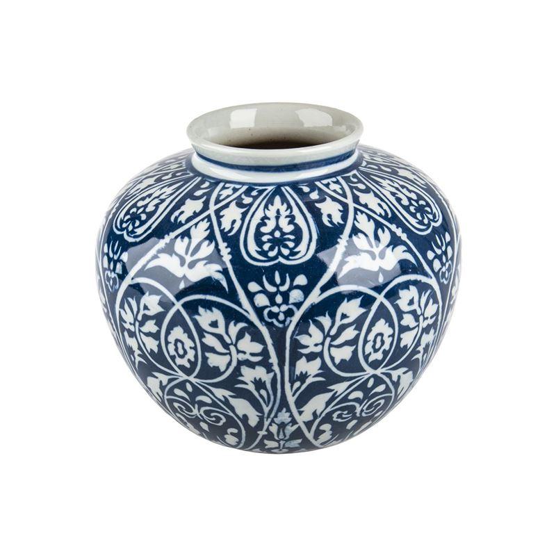 Pimbleton – Chinoiserie Georgia Round Vase 20cm