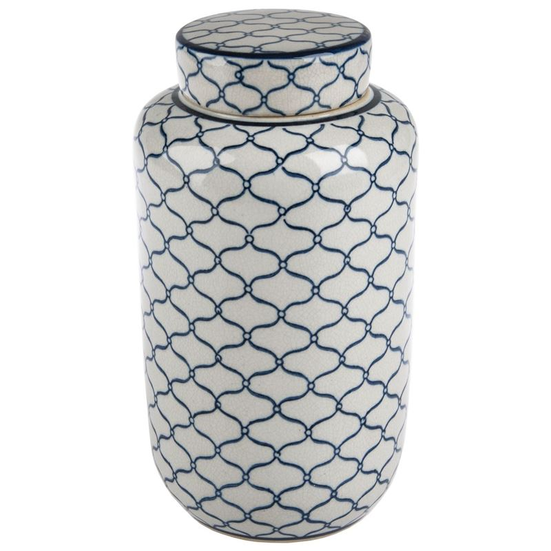 Pimbleton – Chinoiserie Manon Round Ginger Jar 24cm