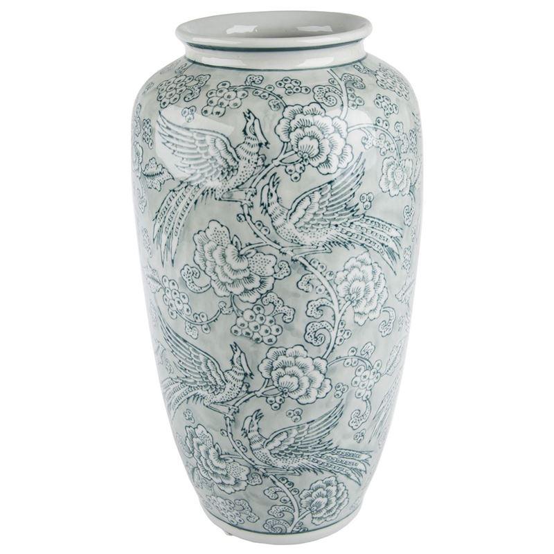 Pimbleton – Chinoiserie Romane Tall Vase 37cm