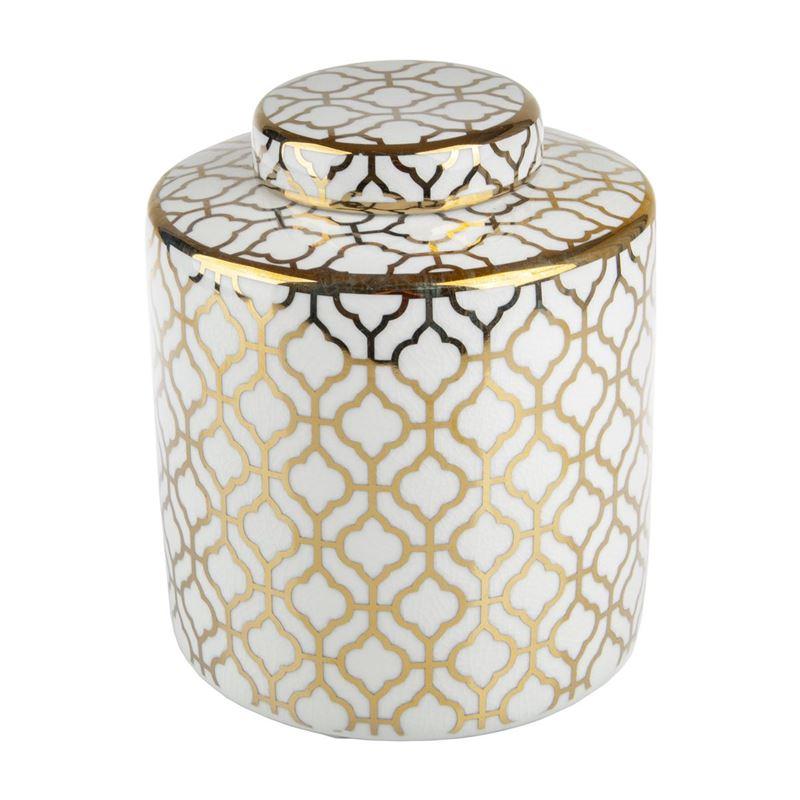 Pimbleton – Luxe Mayfair Round Temple Jar 23cm