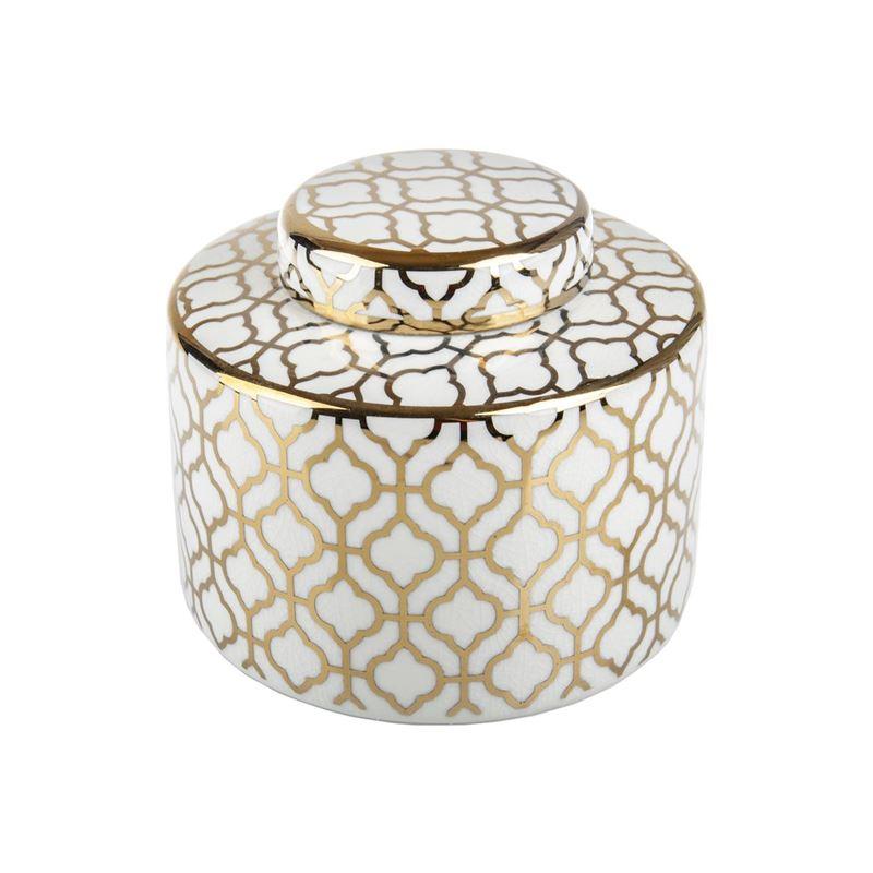 Pimbleton – Luxe Mayfair Round Temple Jar 17cm