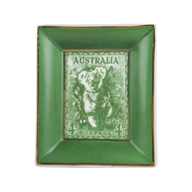 Pimbleton – Australian Stamps Collection Plate Green